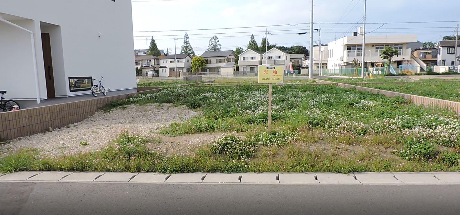 区画整理地№10の画像